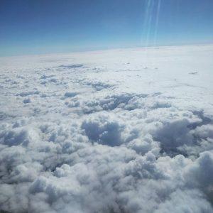 clouds sky flight airplane travel Continua a leggere rarr