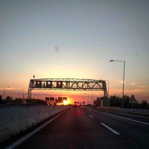 road highway bologna sunset nofilter Continua a leggere rarr